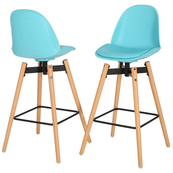 Chloris 30 Bar Stool (Set of 2) by Brayden Studio