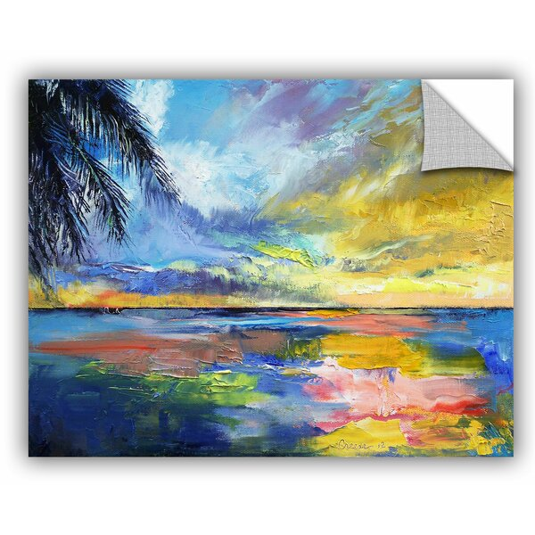 Michael Creese Islamoradana Sunset Wall Decal by ArtWall