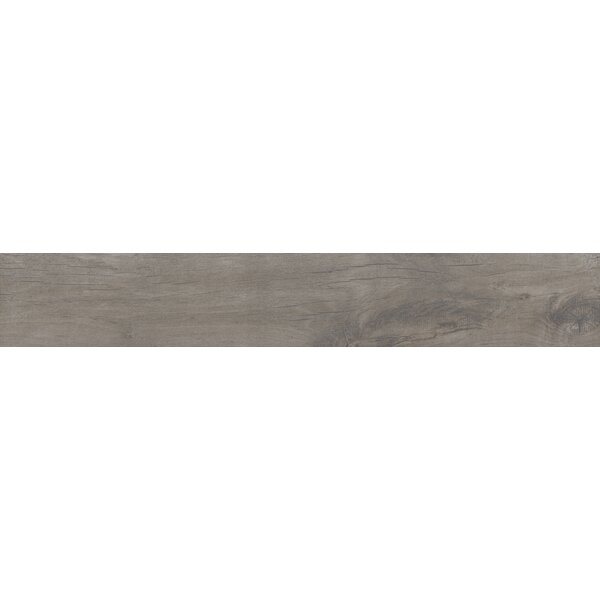 Country River Stone 8 x 48 Porcelain Wood Look Tile in Gray by MSI
