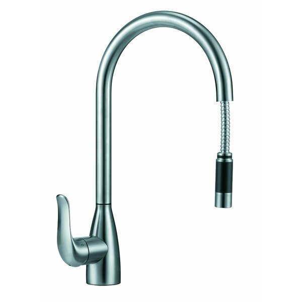 Chloe Pull Down Single Handle Kitchen Faucet by Boann