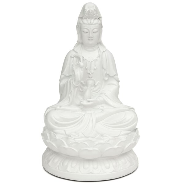 Kwan Yin Figurine by Oriental Furniture