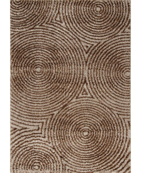 Gilkes Radical Brown Area Rug by Brayden Studio