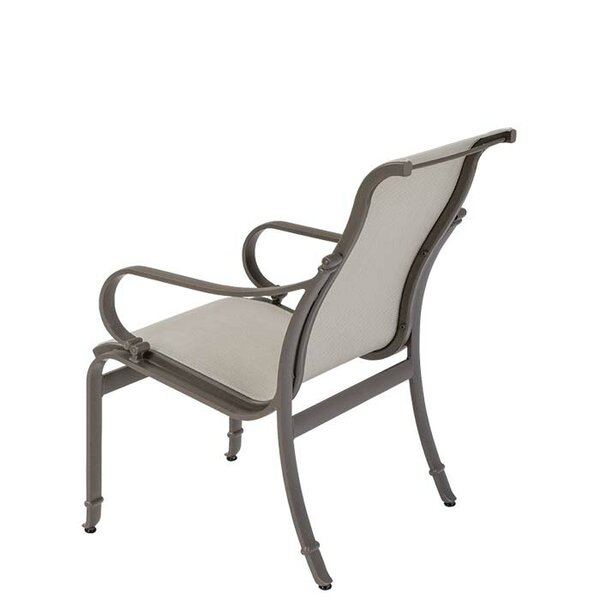 Torino Stacking Patio Dining Chair by Tropitone