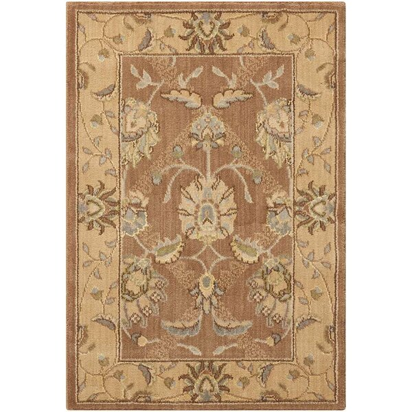 Dowdell Mocca Area Rug by Charlton Home