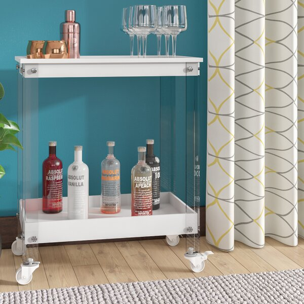 Cloninger Bar Cart by Brayden Studio