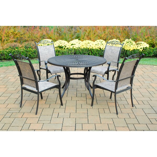 Sunray 5 Piece Dining Set by Oakland Living