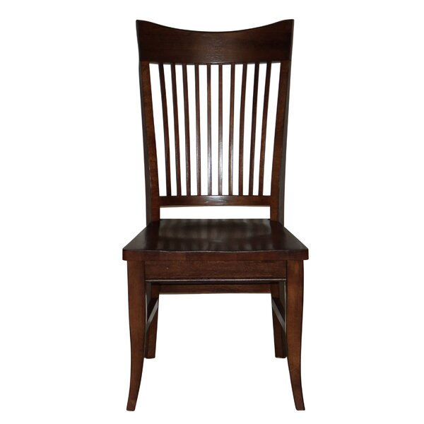 Lacon Curved Spindle Back Seat Solid Wood Dining Chair (Set of 4) by Darby Home Co