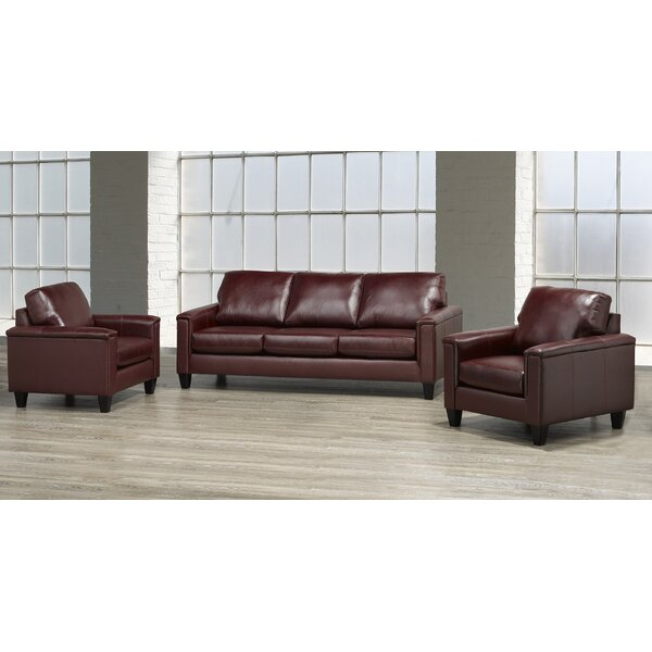 Modern Style Deboer 3 Piece Living Room Set by Darby Home Co by Darby Home Co