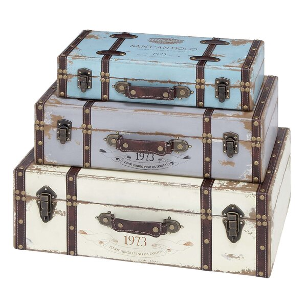 Marion 3 Piece Trunk Set by Cole & Grey