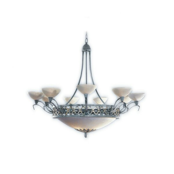 Padova 12-Light Shaded Empire Chandelier By Zanin Lighting Inc.