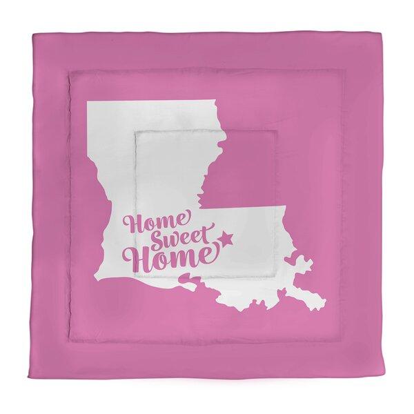 Home Sweet Baton Rouge Single Reversible Comforter