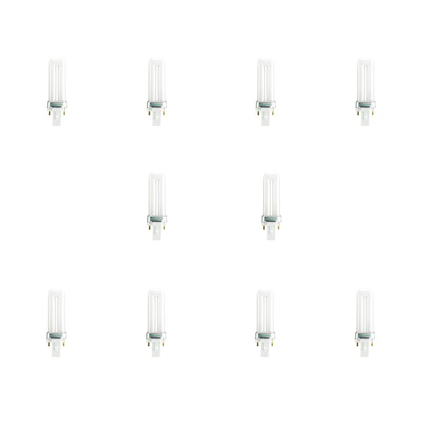 G23 CFL Stick Light Bulb Frosted (Set of 10) by Bulbrite Industries