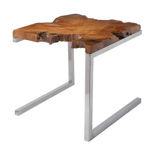 Glickman End Table by Brayden Studio