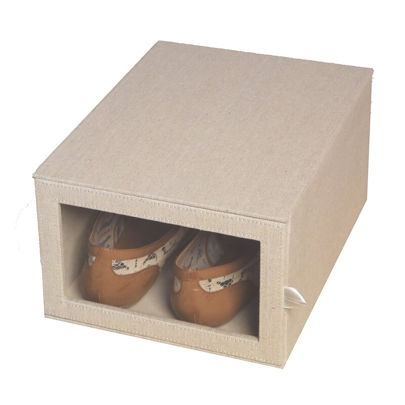 Loft Arrow Drop Front Shoe Storage Box