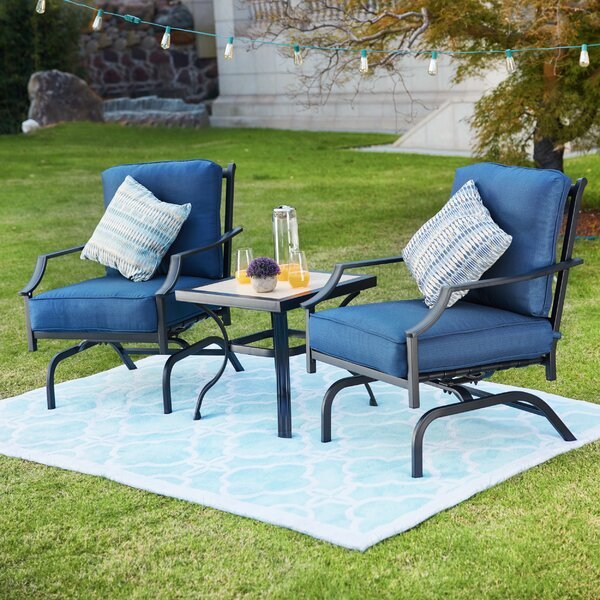 Strawn 2 Piece Seating Group with Cushions by Charlton Home