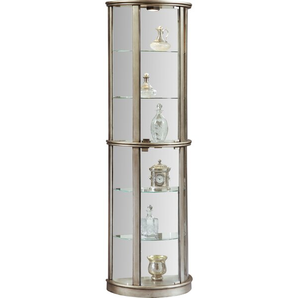 Gracelyn Lighted Curio Cabinet By Willa Arlo Interiors Comparison