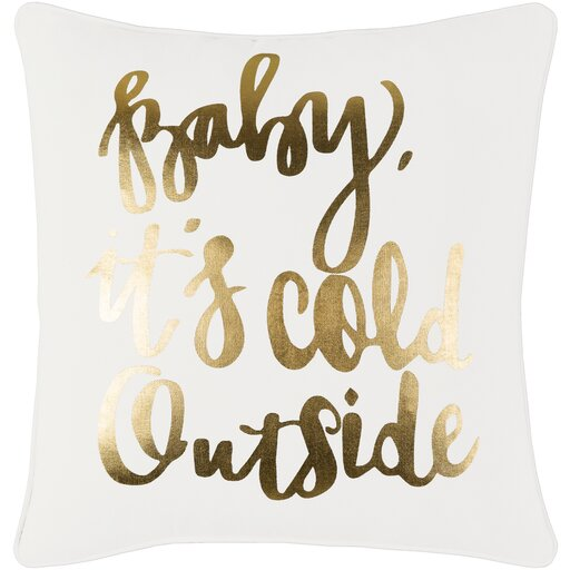 Drake Cotton Pillow Cover by The Holiday Aisle