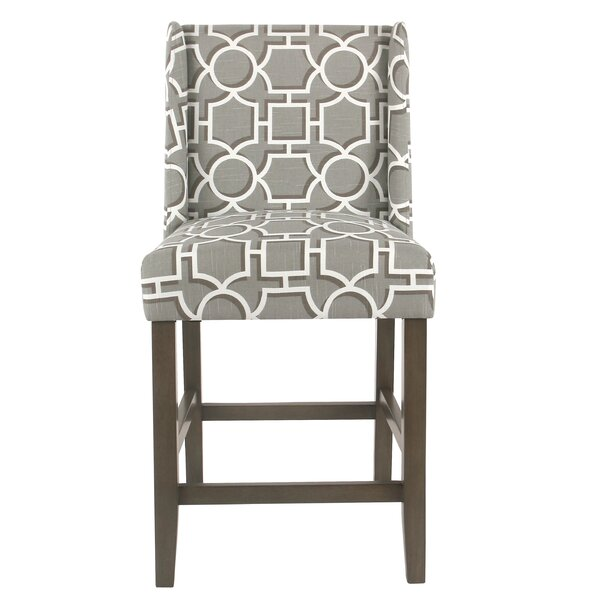 Racine 26 Bar Stool by Rosecliff Heights