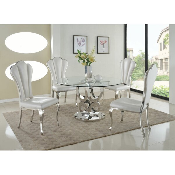 Geir 5 Piece Dining Set by Willa Arlo Interiors