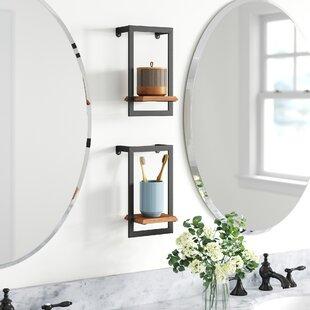 Kelston Mini Wall Shelf Set (Set of 2)