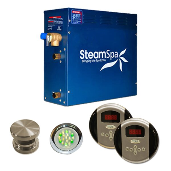SteamSpa Royal 4.5 KW QuickStart Steam Bath Generator Package by Steam Spa