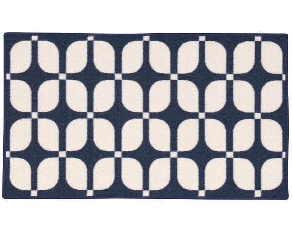 Fancy Free & Easy Unparalleled Navy Area Rug by Waverly