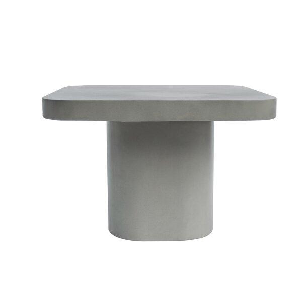 Thibodaux Concrete End Table by Williston Forge