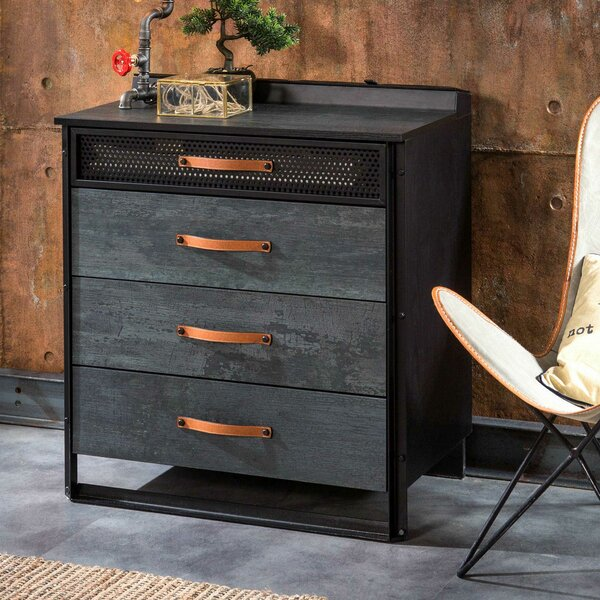 Connell 4 Drawer Chest by Trule Teen