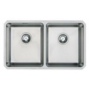 Undermount Double Kitchen Sink | Wayfair.co.uk