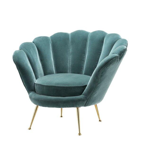 Trapezium Barrel Chair by Eichholtz