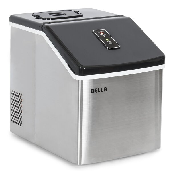 28 lb. Daily Production Portable Ice Maker by Della