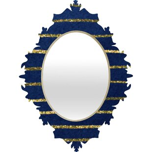 Deny Designs Social Proper Nautical Sparkle Wall Mirror