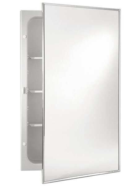 Basic 16.25 x 22.25 Surface Mount Medicine Cabinet by Jensen