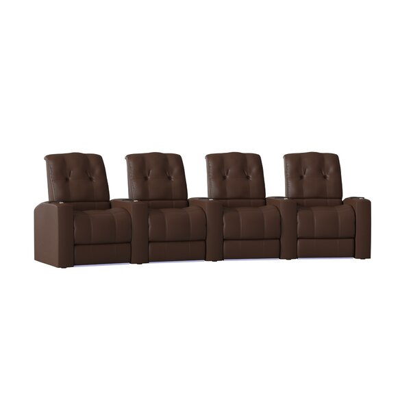 Review Large Home Theater Curved Row Seating (Row Of 4)