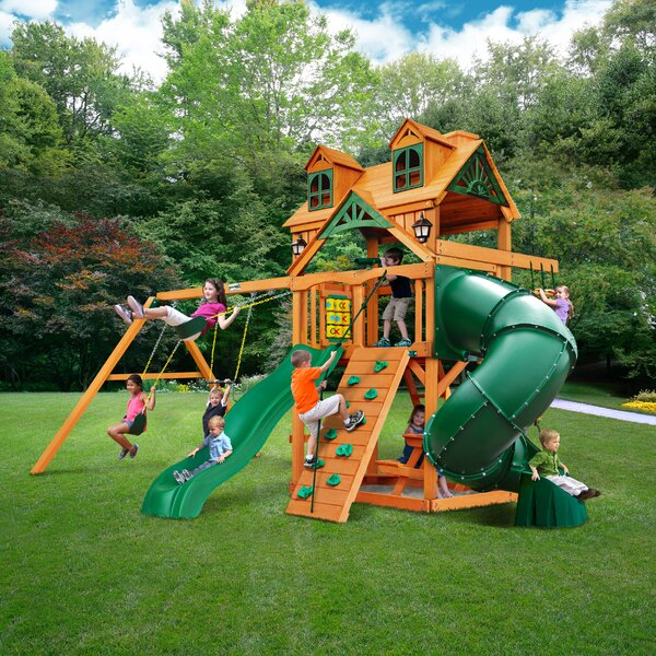 Mountaineer Extreme Swing Set by Gorilla Playsets