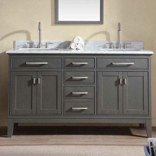 Arminta 60 Double Bathroom Vanity Set by Charlton