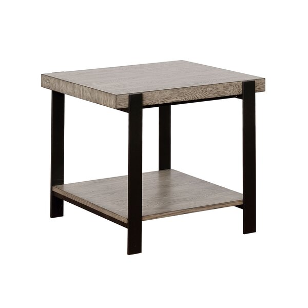 Mckayla End Table With Storage By 17 Stories