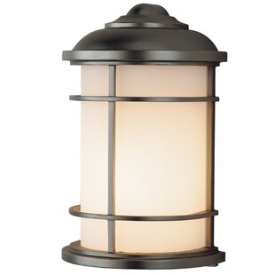 Check Prices Georgia 1-Light Outdoor Flush Mount By Latitude Run