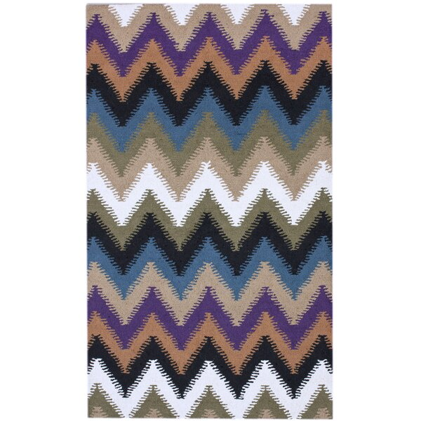 Courtney Zig Zag Multi Rug by nuLOOM