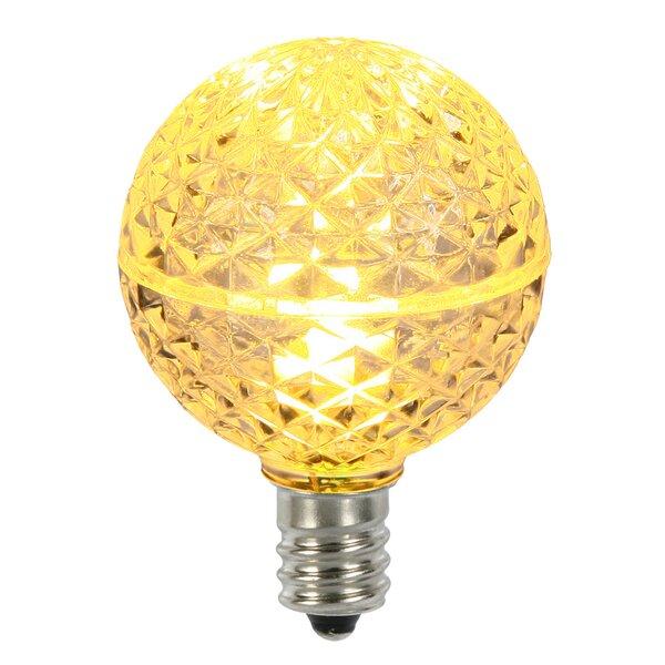 96W E12 LED Light Bulb (Set of 5) by Vickerman