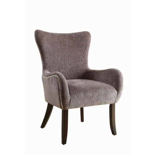 Karnes Wingback Chair by Alcott Hill