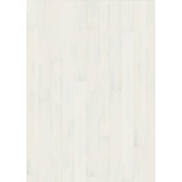 Harmony and Tropical 7-3/4 Engineered Ash Hardwood Flooring in Alabaster by Kahrs