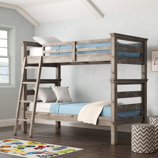 Elise Twin Over Twin Bunk Bed by Grovelane Teen