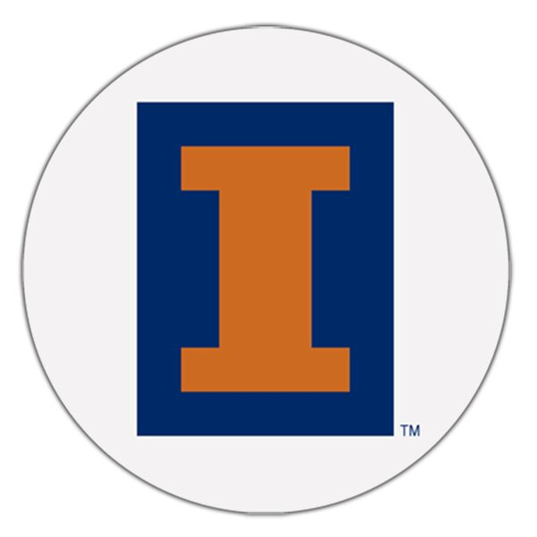 University of Illinois Collegiate Coaster (Set of 4) by Thirstystone