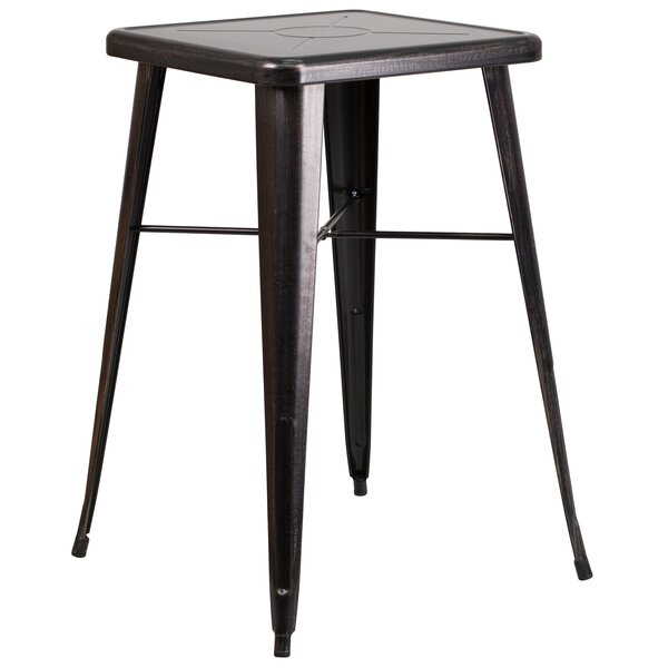 Giguere Metal Dining Table by Ebern Designs