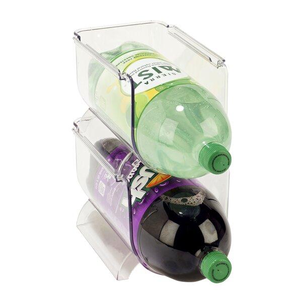 Soda Bottle Shelving Rack by Rebrilliant