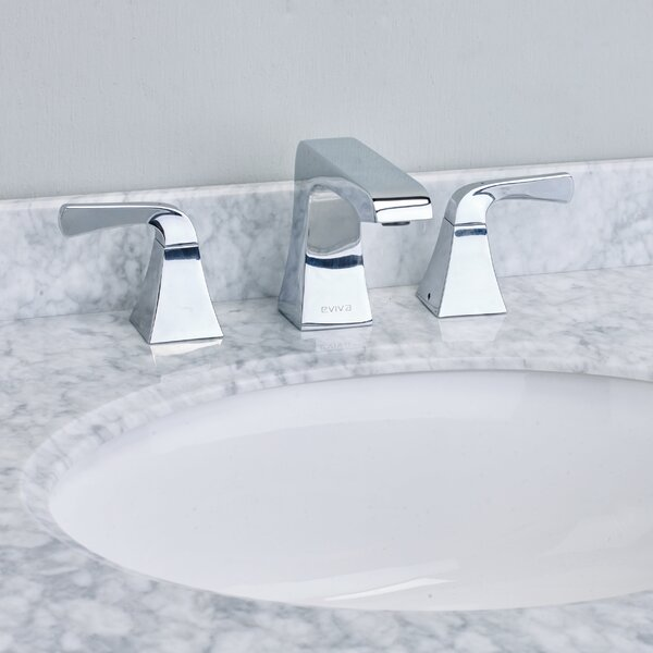 Butterfly® Deck Mount Widespread Bathroom Faucet by Eviva