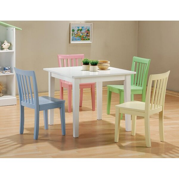 Brose 5 Piece Dining Set by Harriet Bee