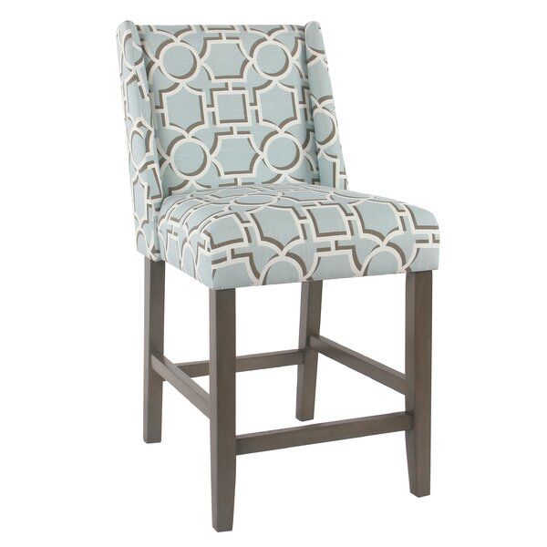 Racine 24.5 Bar Stool by Rosecliff Heights