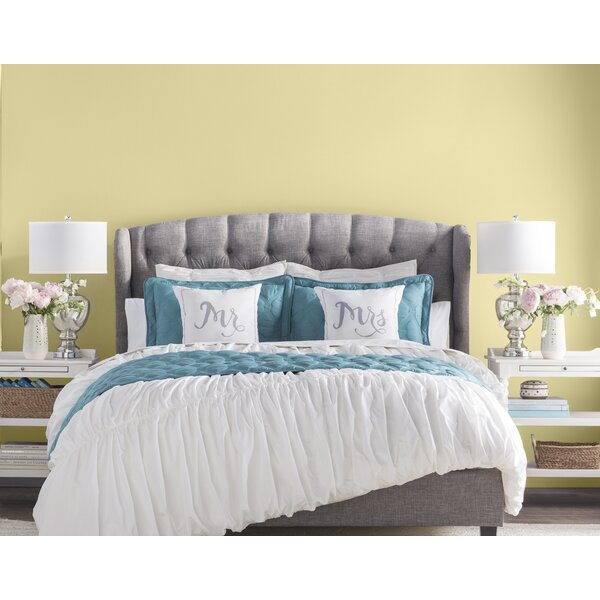 Felicity Upholstered Panel Bed by Three Posts